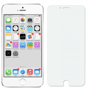 """Clear Apple Iphone 6 4.7"""" Transparent Tempered Glass Coloured Tempered Glass Screen Protector 0.3ml 9h"""