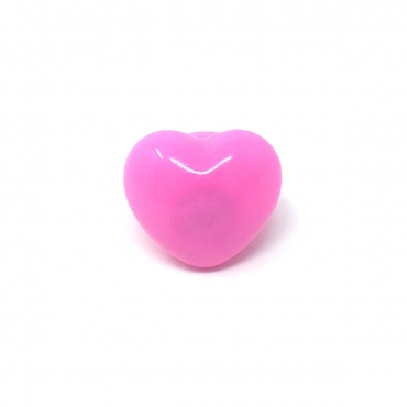 Pink Heart Bumpy Glow in the Dark LED Glow Ring Flashing Jelly Rings LED Finger Lights for Kids Adults LED Ring Light Up Toys Party Favours Ring