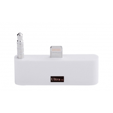 """Ultra White Audio adapter for Iphone 6 6s 4.7"""" models 30 pin to 8 Pin Adapter Compatible with Lightening Ports Adapter Mobile Phones and Devices"""