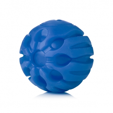 Ultra Blue Coloured LED Dog Balls Flashing Glow in the Dark Light Up Dog Toys Virtually Indestructible Ball Perfect for Dog Games Including Catch Ball Glow Balls for Dogs Flashing Durable Dog Ball