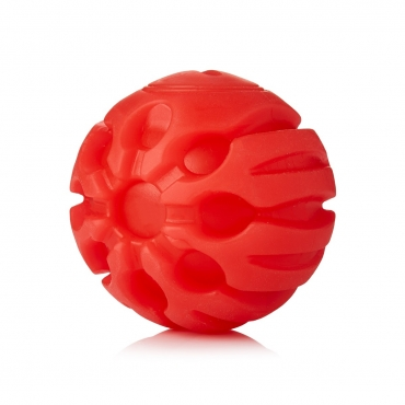 Ultra Red Coloured LED Dog Balls Flashing Glow in the Dark Light Up Dog Toys Virtually Indestructible Ball Perfect for Dog Games Including Catch Ball Glow Balls for Dogs Flashing Durable Dog Ball