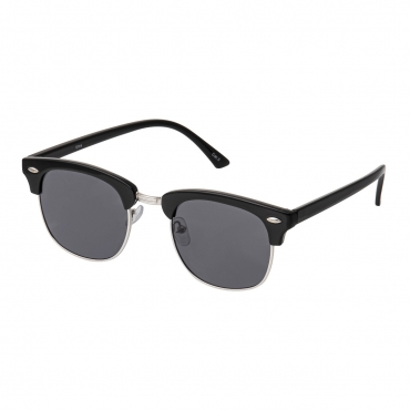 Ultra Adults Black Half Rimmed Classic Mens Womens Sunglasses Retro UV400 Rimmed Fashion Glasses Shades Eyewear Rivet Horn Rimmed Unisex