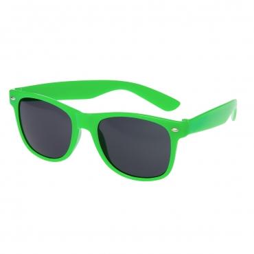 Ultra Adults Retro Classic Style Sunglasses Green Frame Black Lenses UV400 Protection Rimmed Eyewear Mens Womens Unisex Shades