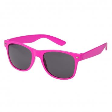 Ultra Adults Retro Classic Style Sunglasses Pink Frame Black Lenses UV400 Protection Rimmed Eyewear Mens Womens Unisex Shades