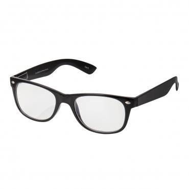 Black Classic Adults Anti Blue Light Blocking Glasses Mens Womens Anti UV Eye Strain Fatigue Computer Reading Gaming Clear Lenses Eyewear
