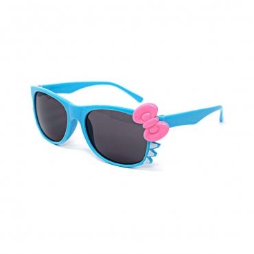 Ultra Blue Childrens Bow Dark Lens Classic Frames Costume Glasses Parties Kids Nerds Geek World Book Day Cosplay Fancy Dress Unisex