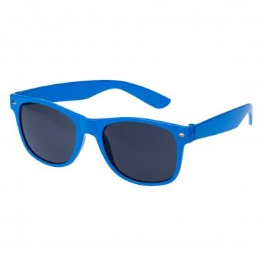 Ultra Adults Retro Classic Style Sunglasses Blue Frame Black Lenses UV400 Protection Rimmed Eyewear Mens Womens Unisex Shades