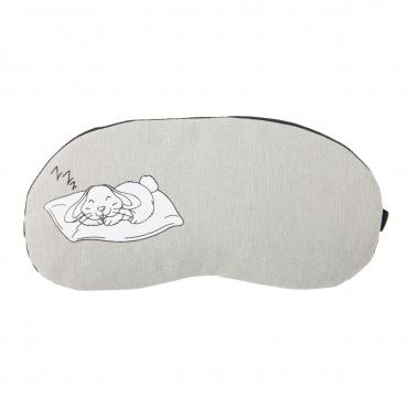 Rabbit Plush Sleep Eye Masks Animal Mask Detachable Reusable Ice Pack Hot Cold Gel Compress for Tired Puffy Eyes Travel Sleeping Men Women Children