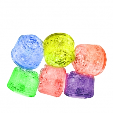6 to 96 Packs of Roses Bright LED Ice Cubes Reusable Ice Cubes Whiskey Stones Fake Ice Cubes Liquid Activated Flashing Ice Cubes Water Sensor Light Up Cubes LED Light Bar Gin Ice Cubes Decorative Freezable