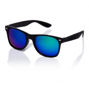 Ultra Adults Retro Classic Style Sunglasses Black Frame Green Lenses UV400 Protection Rimmed Eyewear Mens Womens Unisex Shades