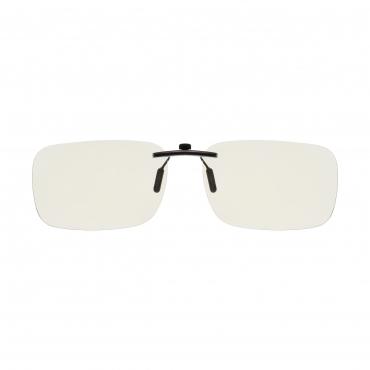 Clip On Adults Anti Blue Light Blocking Glasses Mens Womens Anti UV Eye Strain Fatigue Computer Reading Gaming Clear Lenses Eyewear