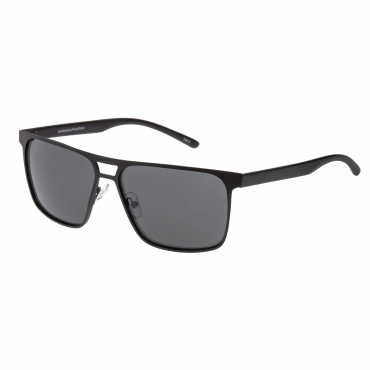 Adults Mens Sunglasses Black Frame with Black Lenses Composite Lightweight Alloy UV400 Classic Eyewear Glasses Driving Running Hiking Sport Golf