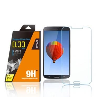 OTAO Premium Clear Samsung Galaxy Mega 6.3 Tempered Glass Screen Protector 0.3ml X Lambo Highest Level Protection 9H Pro