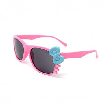 Ultra Pink Childrens Bow Dark Lens Classic Frames Costume Glasses Parties Kids Nerds Geek World Book Day Cosplay Fancy Dress Unisex
