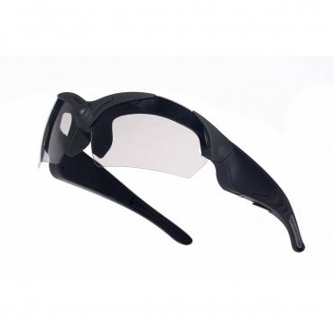 Ultra POV HD Camera Glasses 720p HD High Resolution Handsfree Video Recording Picture Taking Outdoor Sunglasses Expandable Memory Sports 4 Lenses