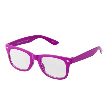 Purple Childrens Costume Glasses Classic Clear Lens Frames Boys Girls Kids Fancy Dress World Book Day Geek Hipsters Nerds Look Style