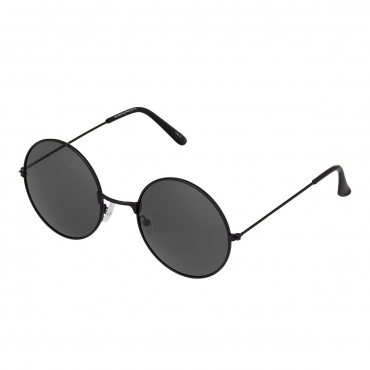 Ultra Large Black Frame with Black Lenses Adults Retro Round John Lennon Style Sunglasses Classic Men Women Vintage Retro Style UV400 Glasses Unisex