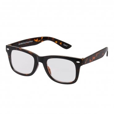 Tiger Leopard Print Childrens Costume Glasses Classic Clear Lens Frames Boys Girls Kids Fancy Dress World Book Day Geek Hipsters Nerds Style