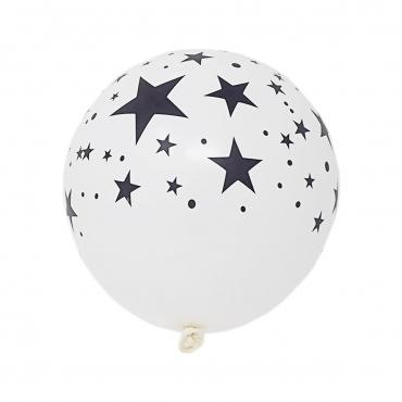 Packs of 5 to 50 White Stars Illoom Light Up LED Balloons Perfect Festival or Celebration Balloons Stars As Seen on Dragons Den Light Up Balloons