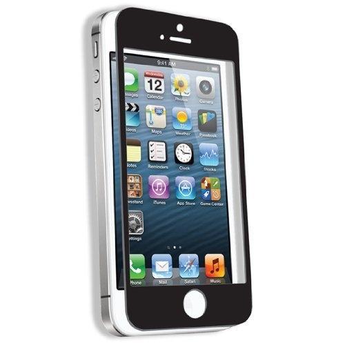 Iphone 5 5c 5s SE Asahi 0.3ml Tempered Glass Screen Protector Black Oleophobic