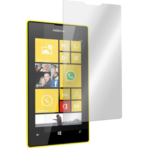 New Premium Clear Tempered Glass Screen for Nokia Lumia 520 0.3ml Thickness 9H