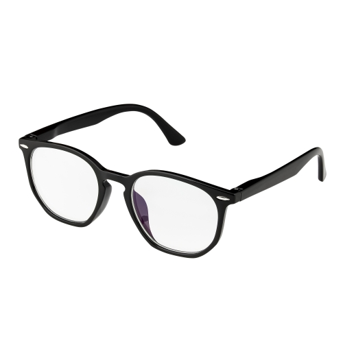 New Black Horn Rim Childrens Kids Anti Blue Light Glasses Computer Gamer Protection Ages 9 to 16 Years