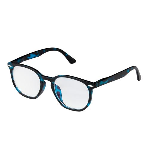 New Blue Tortoiseshell Horn Rim Childrens Kids Anti Blue Light Glasses Computer Gamer Protection Ages 9 to 16 Years