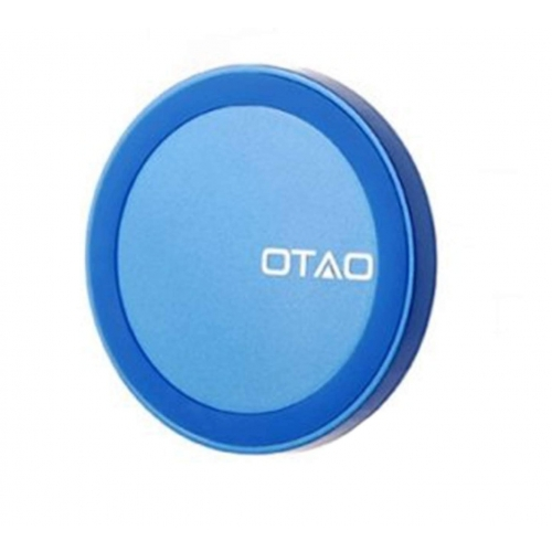OTAO Blue 0.98cm Thinnest in the World QI Charger Pad for Samsung HTC Iphones LG +