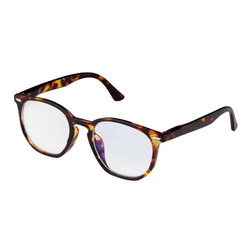 New Brown Tortoiseshell Horn Rim Childrens Kids Anti Blue Light Glasses Computer Gamer Protection Ages 9 to 16 Years