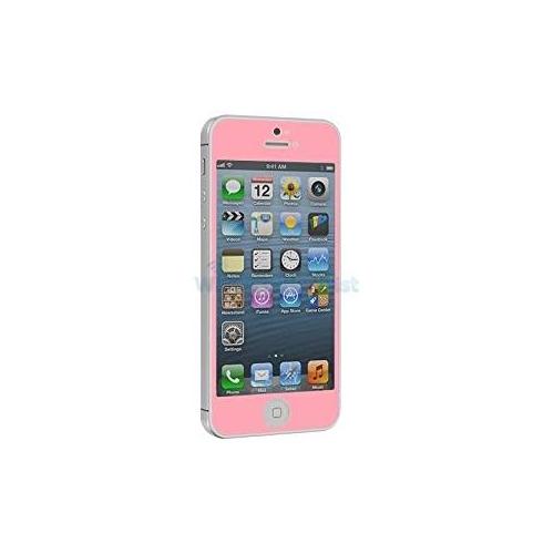 Premium Pink Iphone 5 5c 5s SE Tempered Glass Screen Protector Oleophobic +