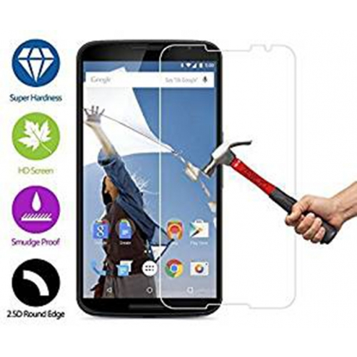 Premium Clear Tempered Glass Screen protector for Google Nexus 6 0.25ml 9h