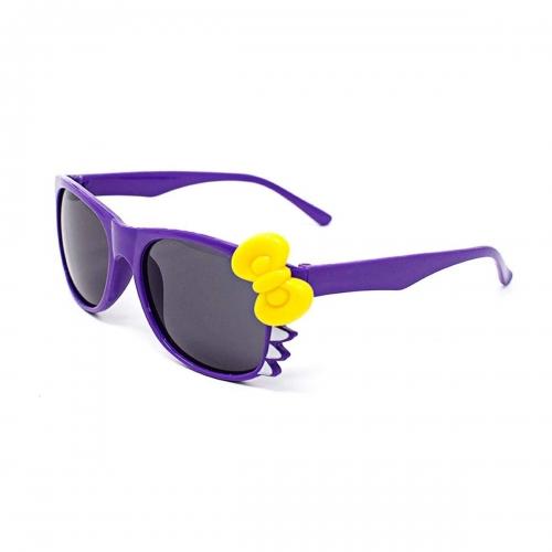 Ultra Purple Childrens Bow Style Multi Colour Dark Lens Classic Frames Costume Glasses Kids Nerds Geek World Book Day Cosplay Fancy Dress Unisex