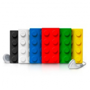 Building Block Brick style Mp3 Player including 2gb Micro TF SD Card