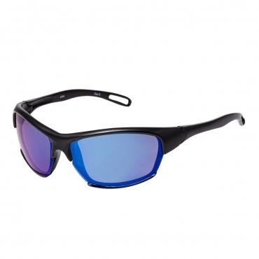 Black Frame Blue Lenses Frame Childrens Wraparound Sports Style Sunglasses UV400 Protection Boys Girls Kids Shades UVA UVB Glasses Durable Frame Unisex Suitable for Ages 3 to 9 years
