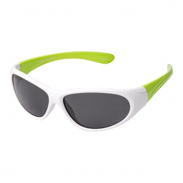 Childrens Kids Green and White Wraparound high quality Sunglasses UV400 UVA UVB Protection Shades Suitable for Ages 3 to 9 Years