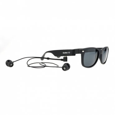 Ultra Edition K3-P Classic in Style Bluetooth Designer Sports Sunglasses with Stereo Music Support and Handsfree Perfect for iOs Android Windows mobile phones and Bluetooth devices