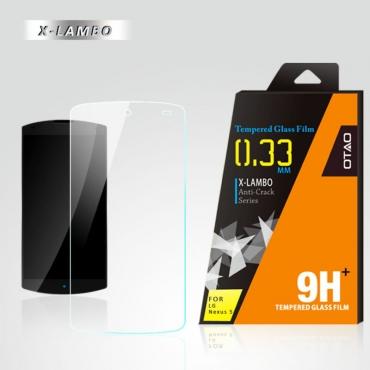 OTAO Explosion Premium 0.3ml thin LG Nexus 5 Tempered Glass Screen Protector