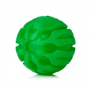 Ultra Green Coloured LED Dog Balls Flashing Glow in the Dark Light Up Dog Toys Virtually Indestructible Ball Perfect for Dog Games Including Catch Ball Glow Balls for Dogs Flashing Durable Dog Ball