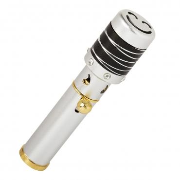 Silver with Black Striped Top Handheld Incense Burner Diffuser Sticks Cones Vaporizer Bakhoor Bakhur Oudh Oud Wood Jet Butane Flame Pen