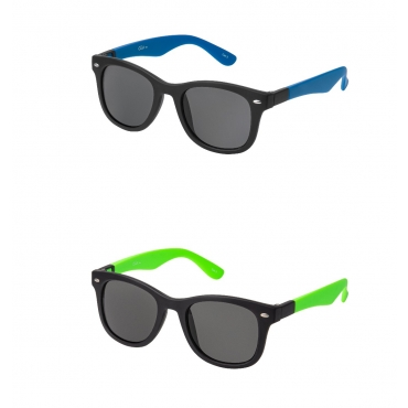 Clix Blue and Green Dual Frames Adults Classic Sunglasses with Changeable Arms Mens Womens UV400 Glasses Retro Vintage Eyewear Shades