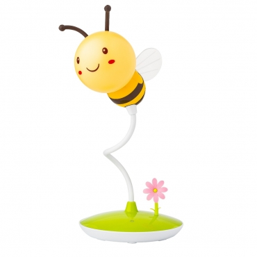 Ultra Honey Bee LED Night Light Portable Touch Sensitive Cute Bumblebee Flexible Dimmable Sensor USB Rechargeable Childrens Baby Bedrooms Office Gift