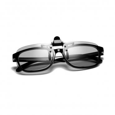 Clip On Flip Up Adults Anti Blue Light Blocking Glasses Mens Womens Anti UV Eye Strain Fatigue Computer Reading Gaming Clear Lenses Eyewear