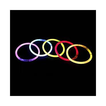 Mixed Colour Premium Glow Sticks Bracelets Glow stick Assorted Colours Party Pack