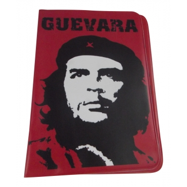 El Che Guevara Travel Passport Card Holder Pouch Cover Artistic Print Passport Holder Cover For Men and For Women Thin Slim Holder Passport Holder Novelty Design
