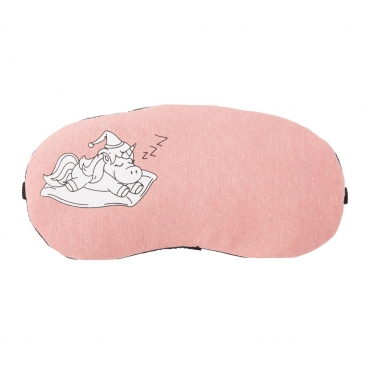 Unicorn Plush Sleep Eye Masks Animal Mask Detachable Reusable Ice Pack Hot Cold Gel Compress for Tired Puffy Eyes Travel Sleeping Men Women Children