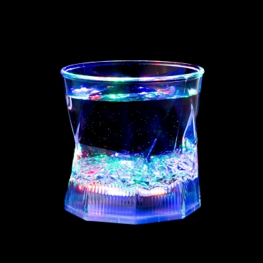Water Liquid Activated LED Flashing Glass Light Up Tumbler Inductive Glasses 240ml