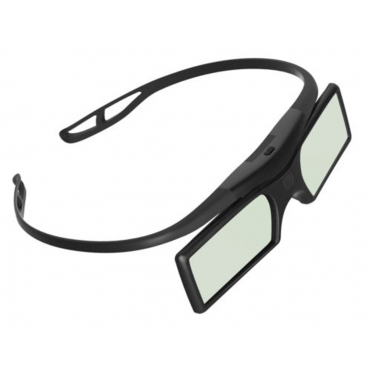 Ultra (TM) Active Shutter 3d Glasses RF Bluetooth Signal 3d Glasses Black in colour using Button batteries for all Mainstream active shutter 3d tvs including Samsung Panasonic and Mainstream Tvs Using Bluetooth RF Signals