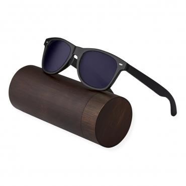 Ultra Ebony Wood Arms with Smoked Lenses Sunglasses Polorised Eyewear Wooden Sunglasses UV400 Mens Womens-Ebony Wood Arms with Smoked Lenses