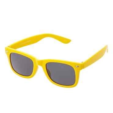 Ultra Yellow Childrens Sunglasses Classic Kids Glasses UV400 UVA UVB Protection Girls Boys Retro Fashion Shades Unisex
