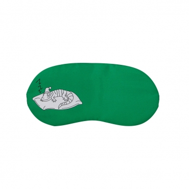Lizard Plush Sleep Eye Masks Animal Mask Detachable Reusable Ice Pack Hot Cold Gel Compress for Tired Puffy Eyes Travel Sleeping Men Women Children
